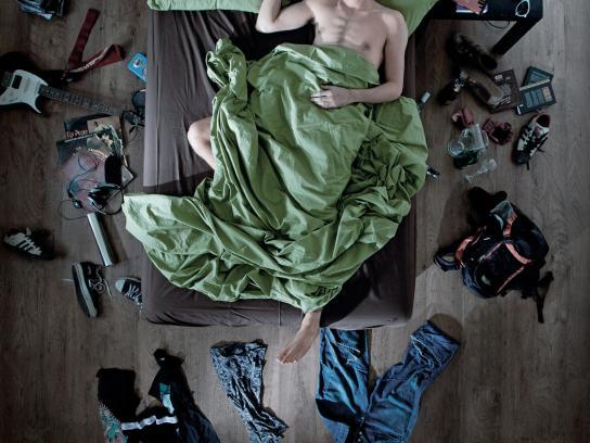 Israel Aids Task Force Print Ad -  Clothing