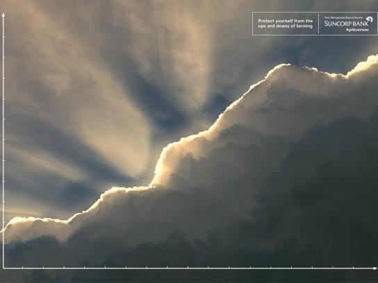 Suncorp Print Ad -  Cloud