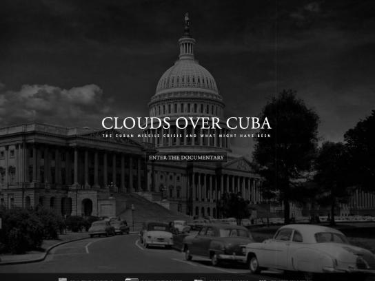 The JFK Presidential Library and Museum Digital Ad -  Clouds Over Cuba