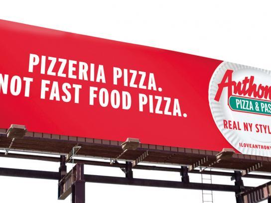 Anthony's Pizza & Pasta Outdoor Ad -  Pizzeria