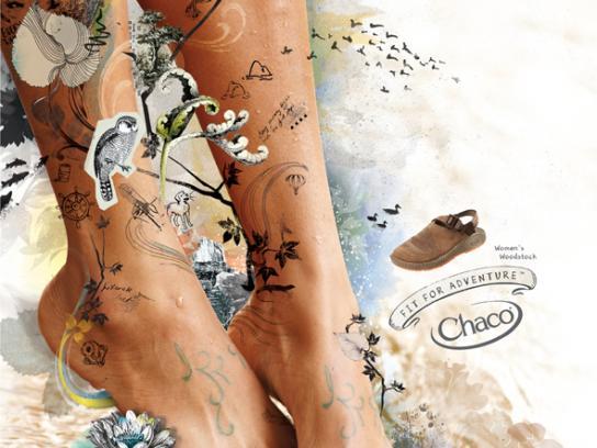 Chaco Print Ad -  Women's owl