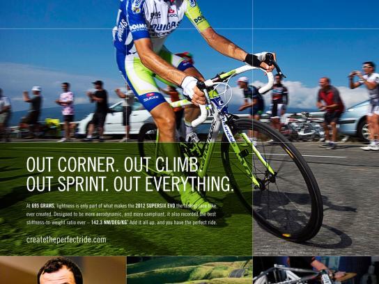 Cannondale Print Ad -  Evo