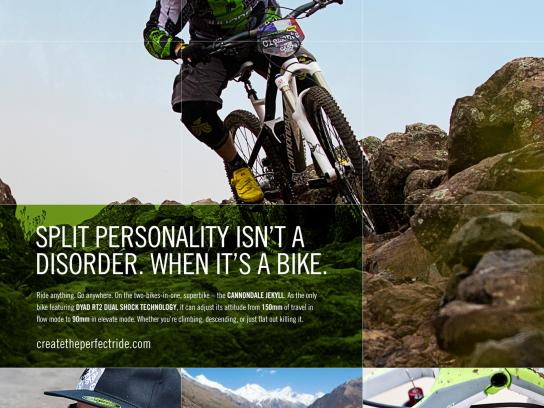 Cannondale Print Ad -  Jekyll