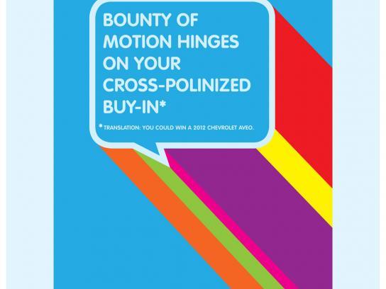 Canada's Next Top Ad Exec Print Ad -  Bounty