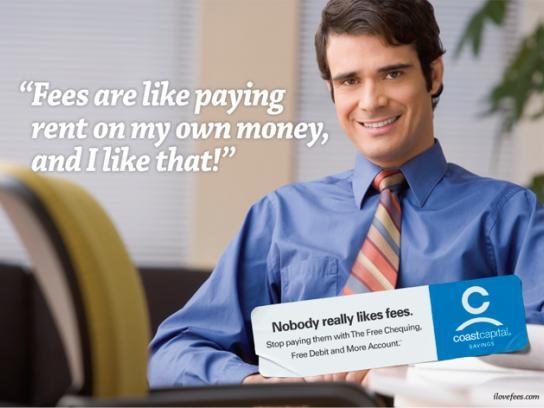 Coast Capital Savings Print Ad -  Business man