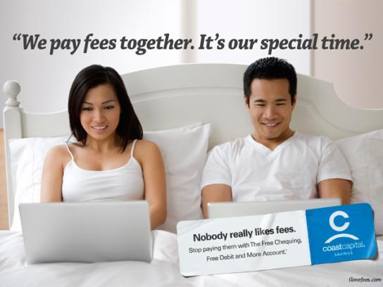 Coast Capital Savings Print Ad -  Special time