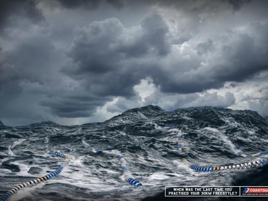 Royal NZ Coastguard Print Ad -  Lanes