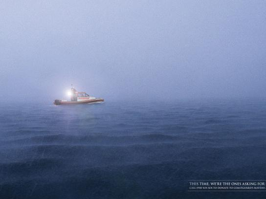 Royal NZ Coastguard Print Ad -  Torch