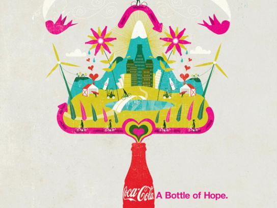Coca-Cola Print Ad -  Hopenhagen, 3