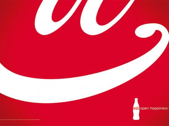 Coca-Cola Print Ad -  Open Happiness