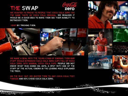 Coca-Cola Zero Ambient Ad -  The Swap