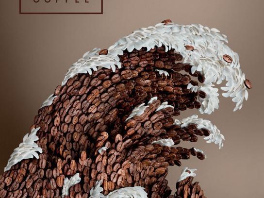 Coffee Inn Print Ad -  Wave
