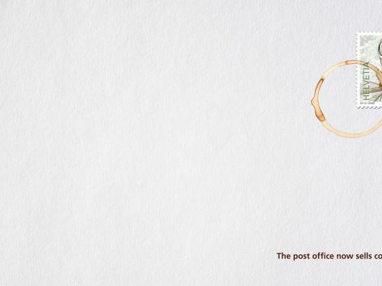 Swiss Post Print Ad -  Coffeestamp