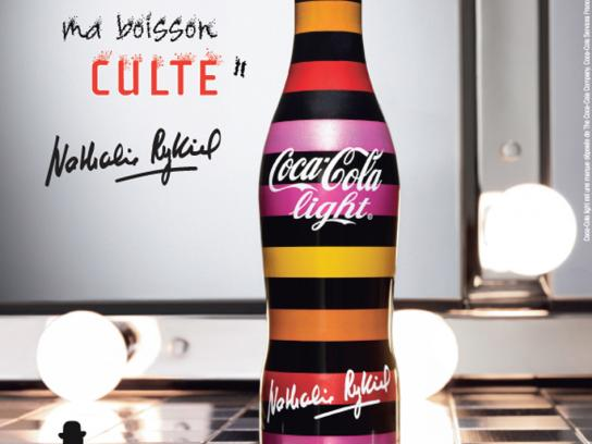 Coca-Cola Print Ad -  Live light by Nathalie Rykiel