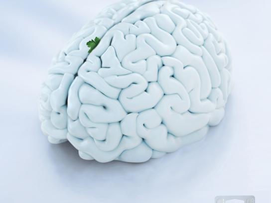Colgate Print Ad -  Brain