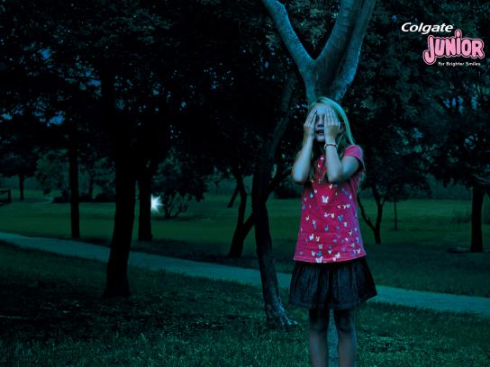 Colgate Print Ad -  Hide and seek