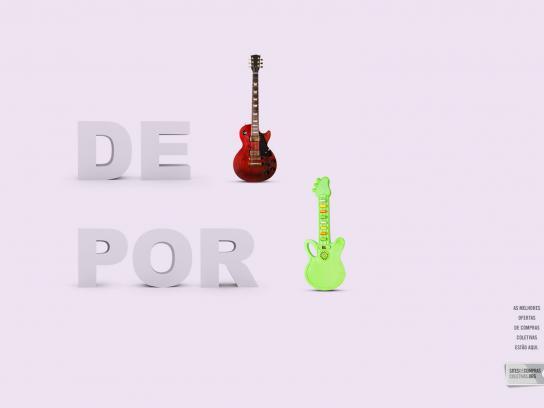 Sitesdecomprascoletivas.org Print Ad -  Guitar