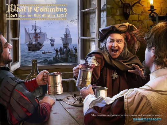 Meio e Mensagem Print Ad -  Columbus