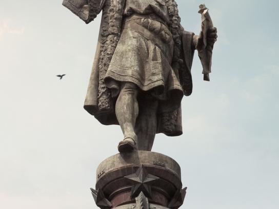 Canon Print Ad -  Statues, Columbus