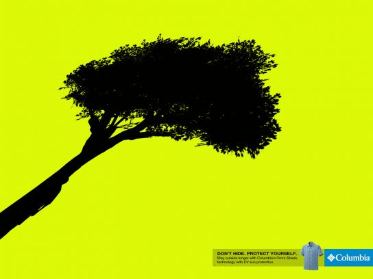 Columbia Print Ad -  Tree