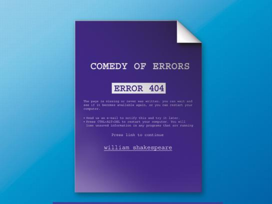 Dacia Print Ad -  Comedy of Errors