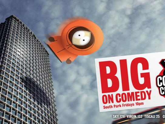 Comedy Central Print Ad -  Kenny