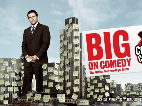 Comedy Central Print Ad -  Steve Carell