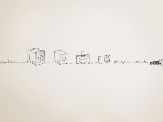 Companhia Athletica Print Ad -  Camera