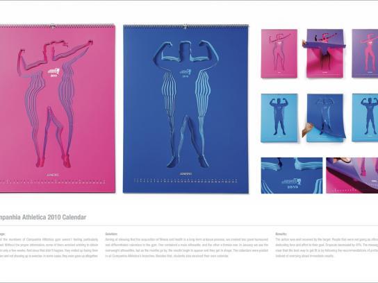 Companhia Athletica Direct Ad -  Calendar