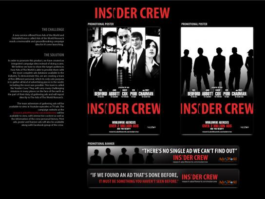 Ads of the World Print Ad -  Insider crew, 1