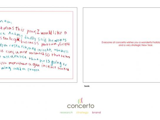 Concerto Direct Ad -  Dear Santa