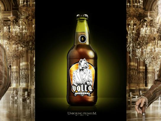 Volta Premium Beer Outdoor Ad -  Count