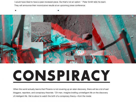 Martian Summer Outdoor Ad -  Conspiracy