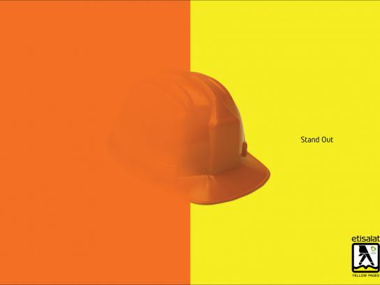 Yellow Pages Print Ad -  Stand Out, Construction