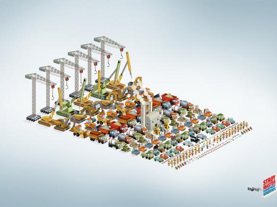 Stroymaster Print Ad -  Construction