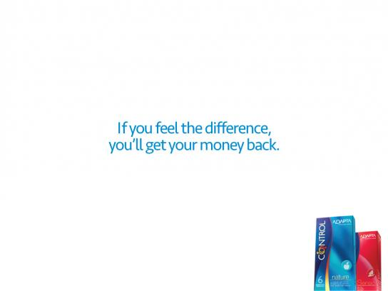 Control Print Ad -  Difference