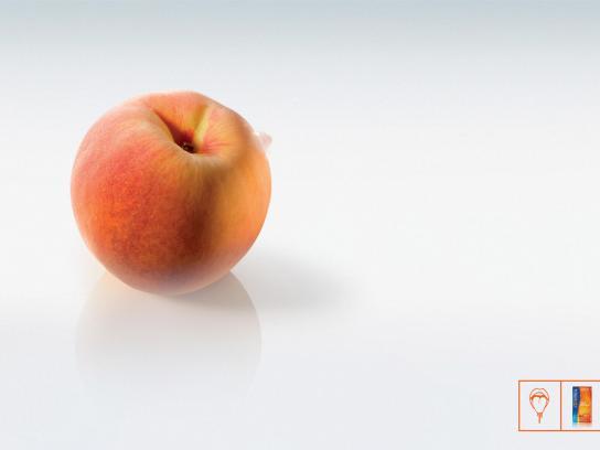 Control Print Ad -  Peach