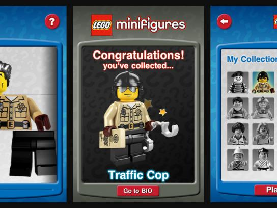 Lego Digital Ad -  iPhone Collector App