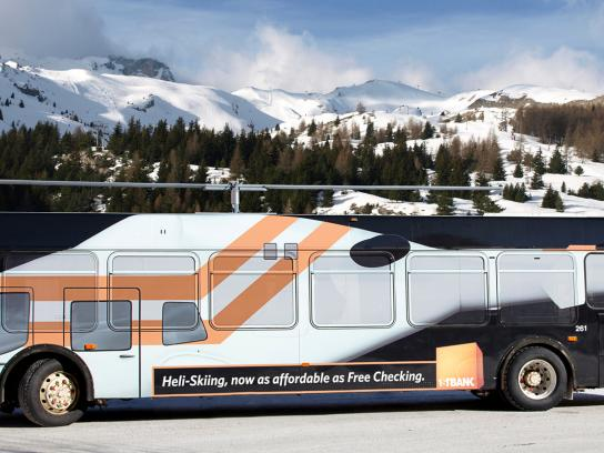 FirstBank Ambient Ad -  Heli-Bus