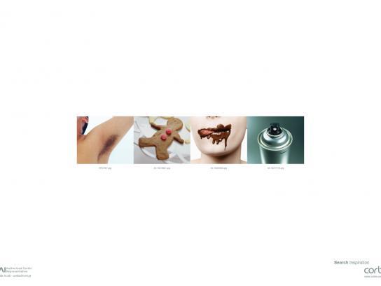 Corbis Print Ad -  Chocolate