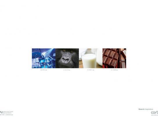Corbis Print Ad -  Gorilla