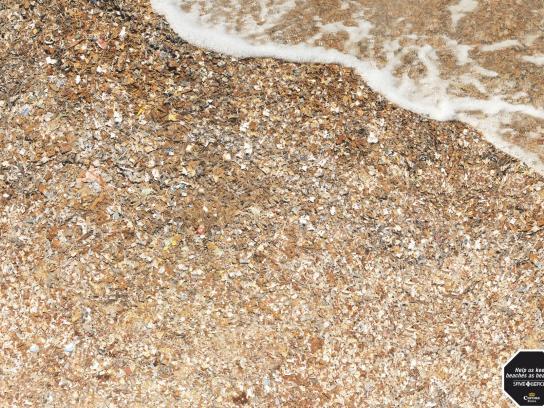 Corona Beer Print Ad -  Beach Waste