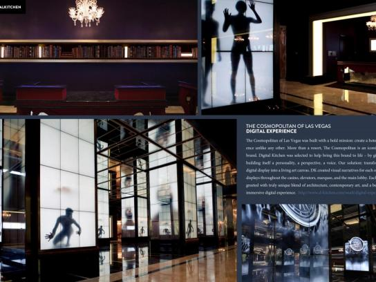 The Cosmopolitan Ambient Ad -  The Cosmopolitan Digital Experience
