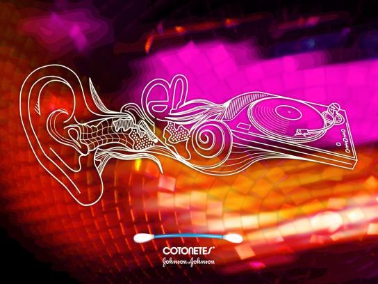 Cotonetes Print Ad -  Dance