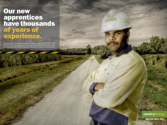 Country Energy Print Ad -  Experience