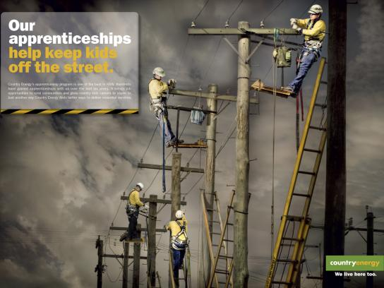 Country Energy Print Ad -  Kids