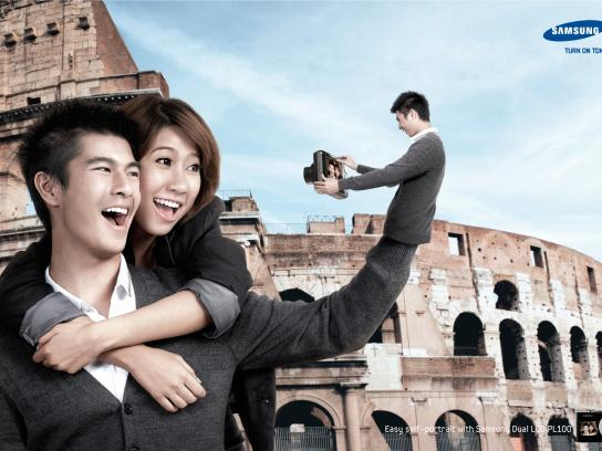 Samsung Print Ad -  Couple