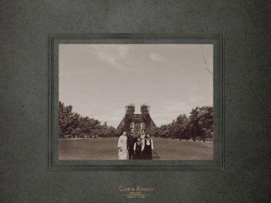 Cox & Kings Print Ad -  Eiffel Tower