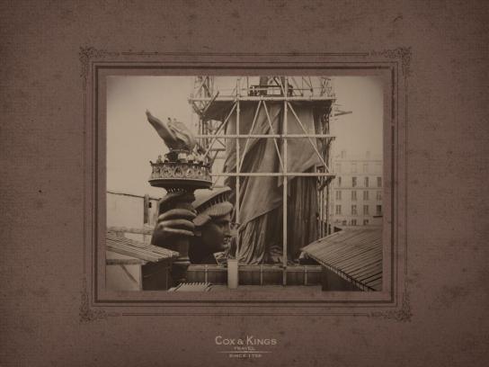 Cox & Kings Print Ad -  Statue of Liberty