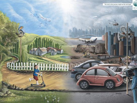 Central Pollution Control Board Print Ad -  Scooter